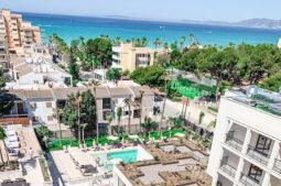 Hotel Paradiso Garden Mallorca - Blick-zum-Mittelmeer