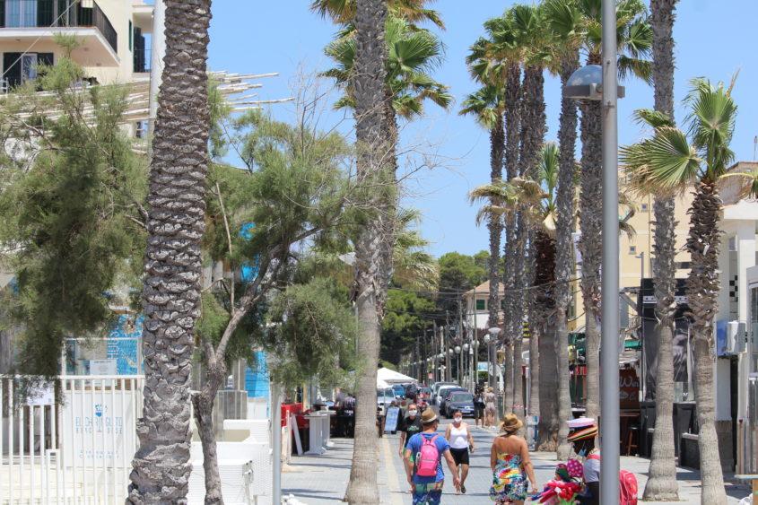 März 2022 –  Entspannt bei lockeren 20 Grad an der Playa