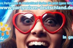 Partyreisen in Deutschland finden Sie auf www.partyreisen-deutschland.de