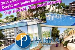 Pabisa Hotels direkt am Ballermann bei mallorca-partyreisen.de buchen.